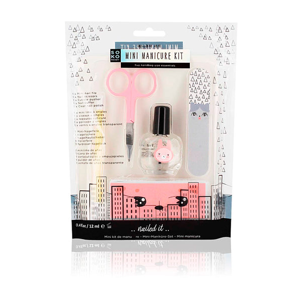 Set de Manucure Mini Manicure Kit Soko Ready (5 pcs)