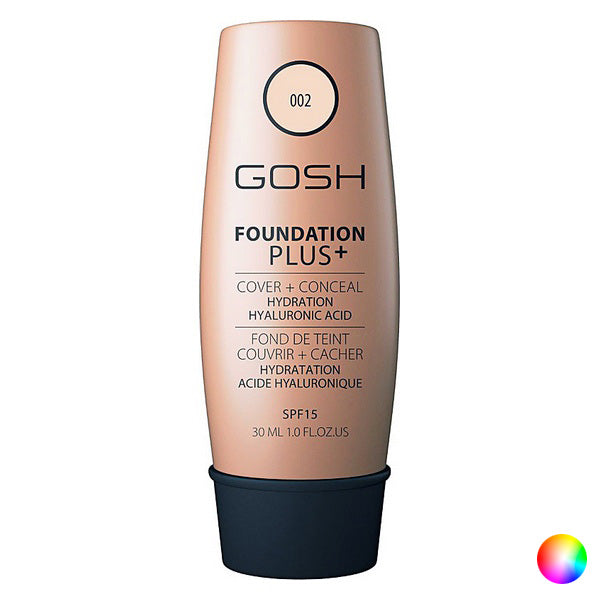 Base de maquillage liquide Foundation Plus Gosh Copenhagen (30 ml)