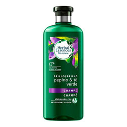 Shampooing revitalisant Bio Brillo Pepino & Té Verde Herbal (400 ml)