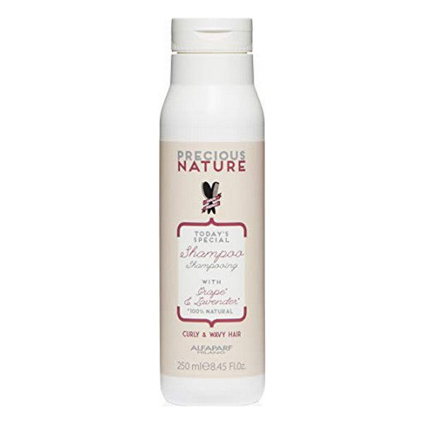 Shampooing Precious Nature Curly & Wavy Hair Alfaparf Milano (250 ml)