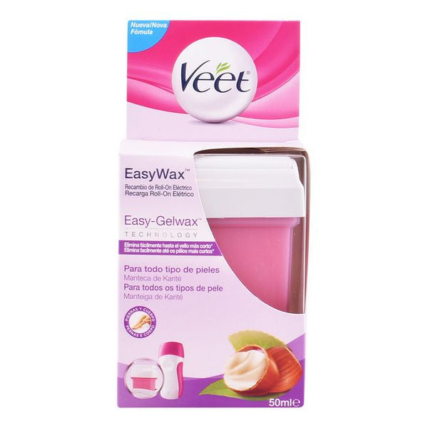 Recharge Roll-on Électrique Easy Wax Veet (50 ml)