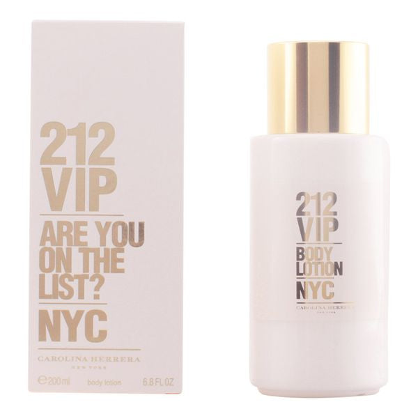 Lotion hydratante 212 Vip Carolina Herrera (200 ml)