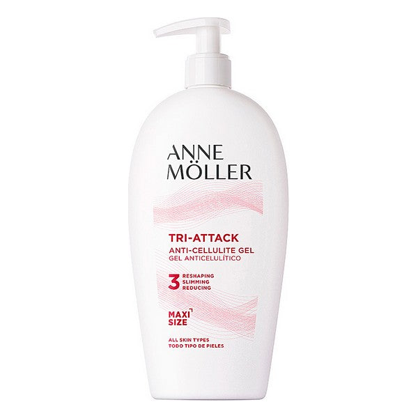 Gel Anti-Cellulite TRI-ATTACK anti-cellulite gel 400 ml Anne Möller (400 ml)