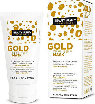 Masque facial Peel Off Gold Diet Esthetic (50 ml)