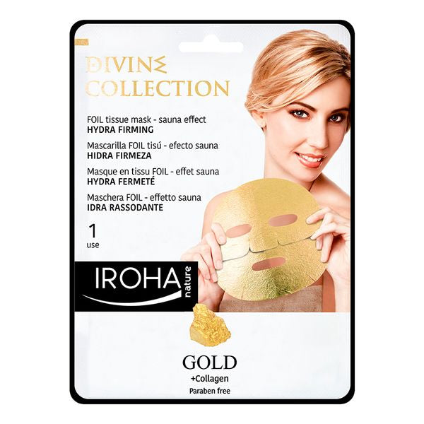 Masque facial Gold Iroha