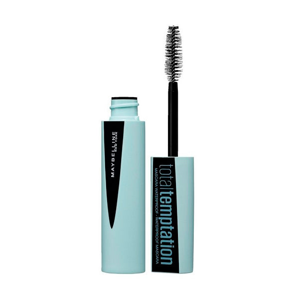 Mascara pour cils Total Temptation Waterproof Maybelline (9,4 ml)
