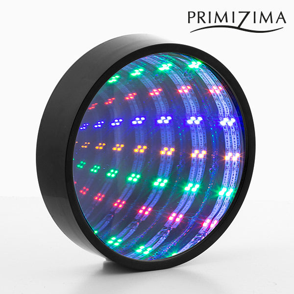 Miroir Tunnel LED Multicolore Primizima