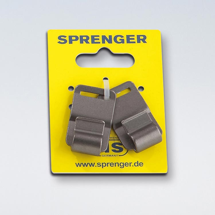 Sprenger Neck Tech Fun extra schakel zwart 50506 000 66