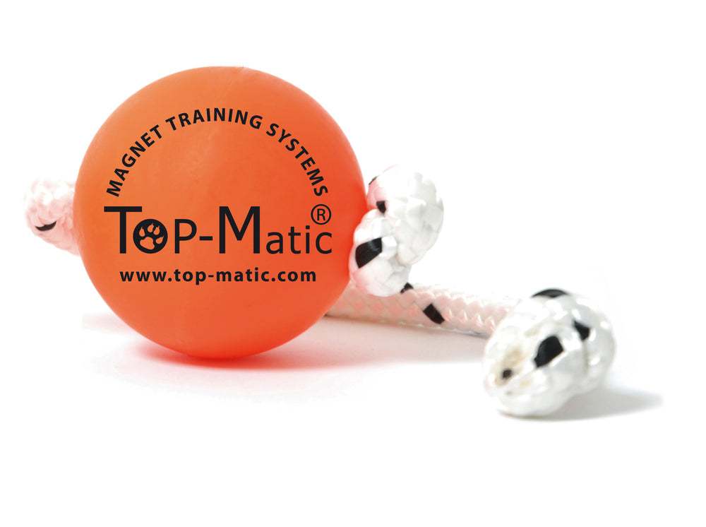 Top Matic Fun Ball (Met Koord) oranje