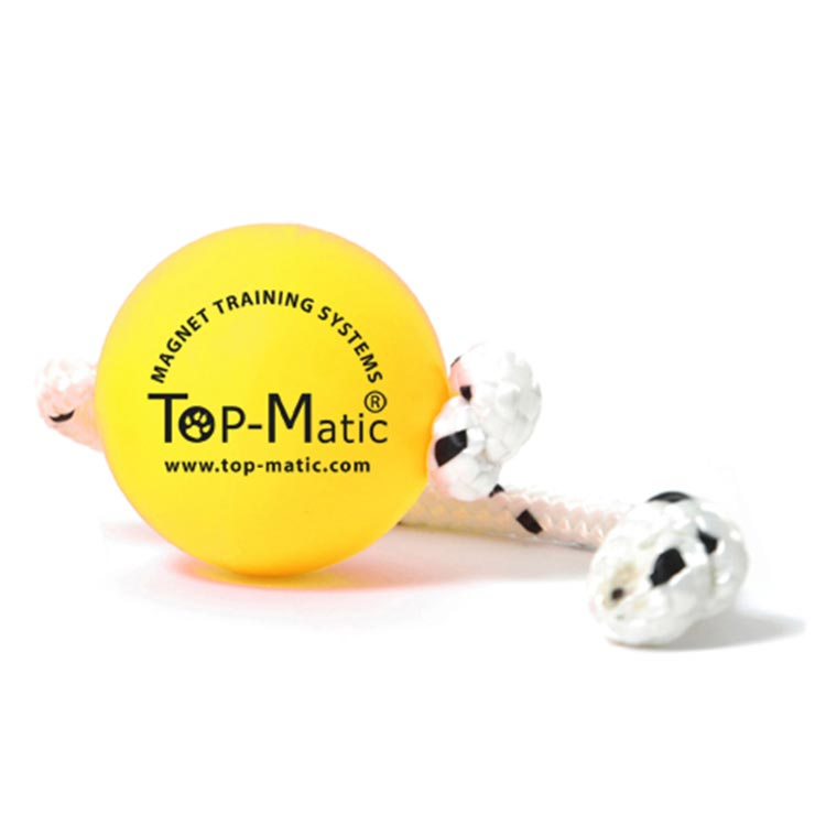 "Top Matic ""Soft Fun Ball"" geel"