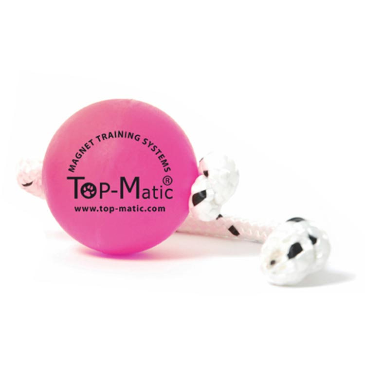"Top matic ""Super soft fun ball"" (roze) - Trainingsbal"
