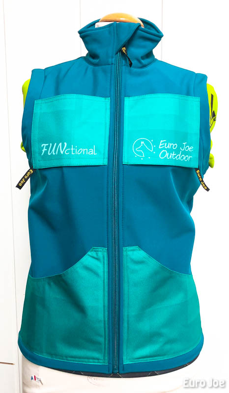 "Trainingsvest ""Functional"" Turquoise (dames)"