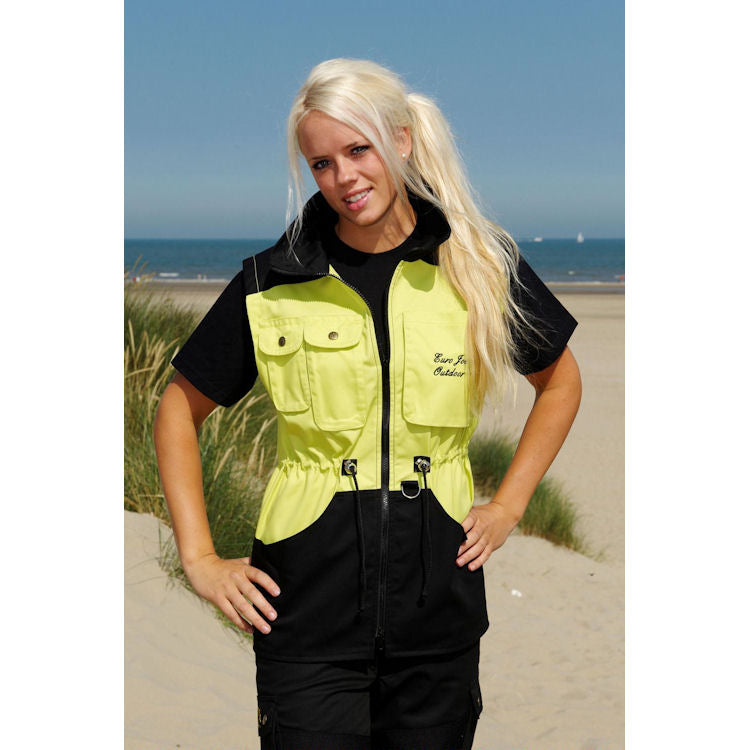 "Trainingsvest ""Rebel"" Zwart/Lime"