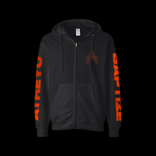 Load image into Gallery viewer, Baptize Zip Up Hoodie (Pre-Order)
