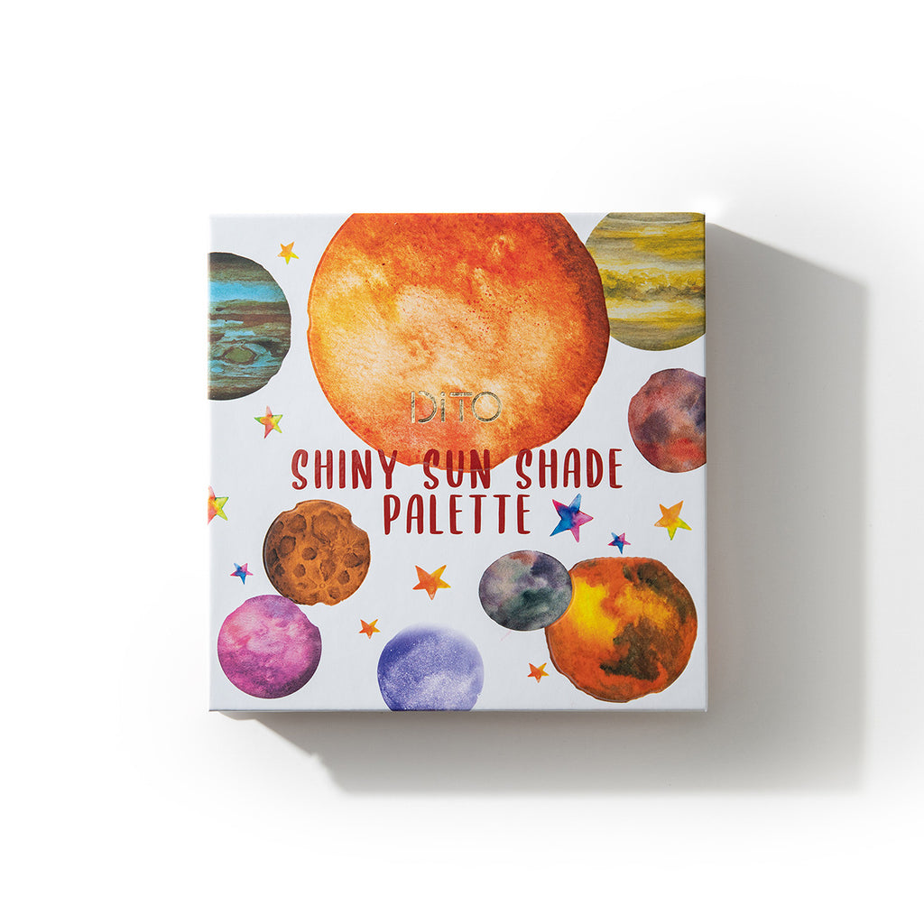 Shiny Sun Shade Palette 9 Color Palette