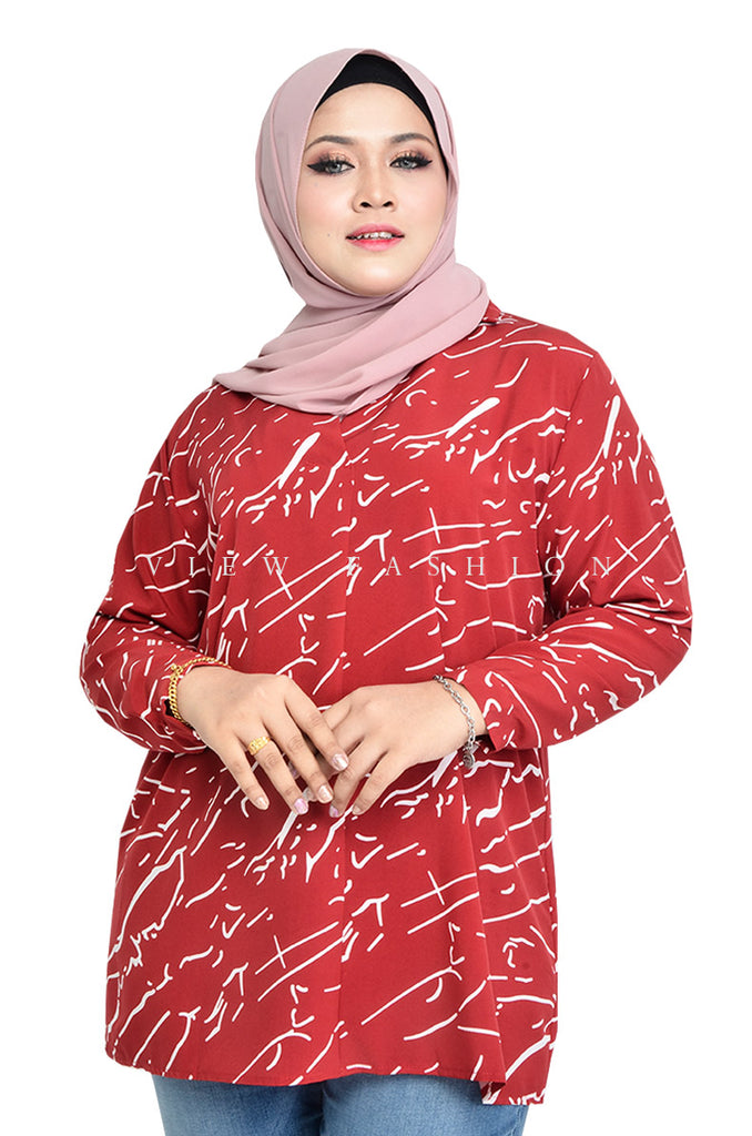 Tiles Printed Blouse