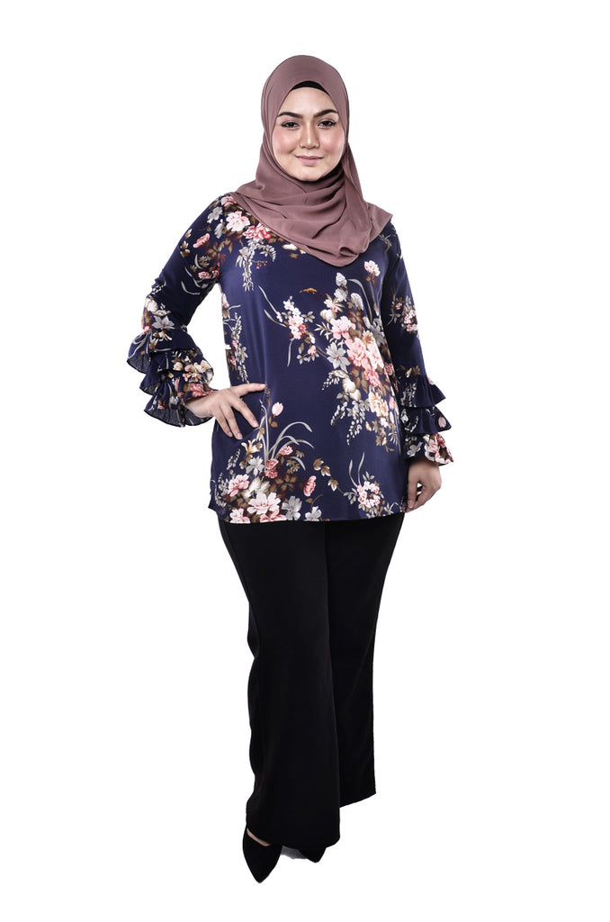 Luxurious Floral Top