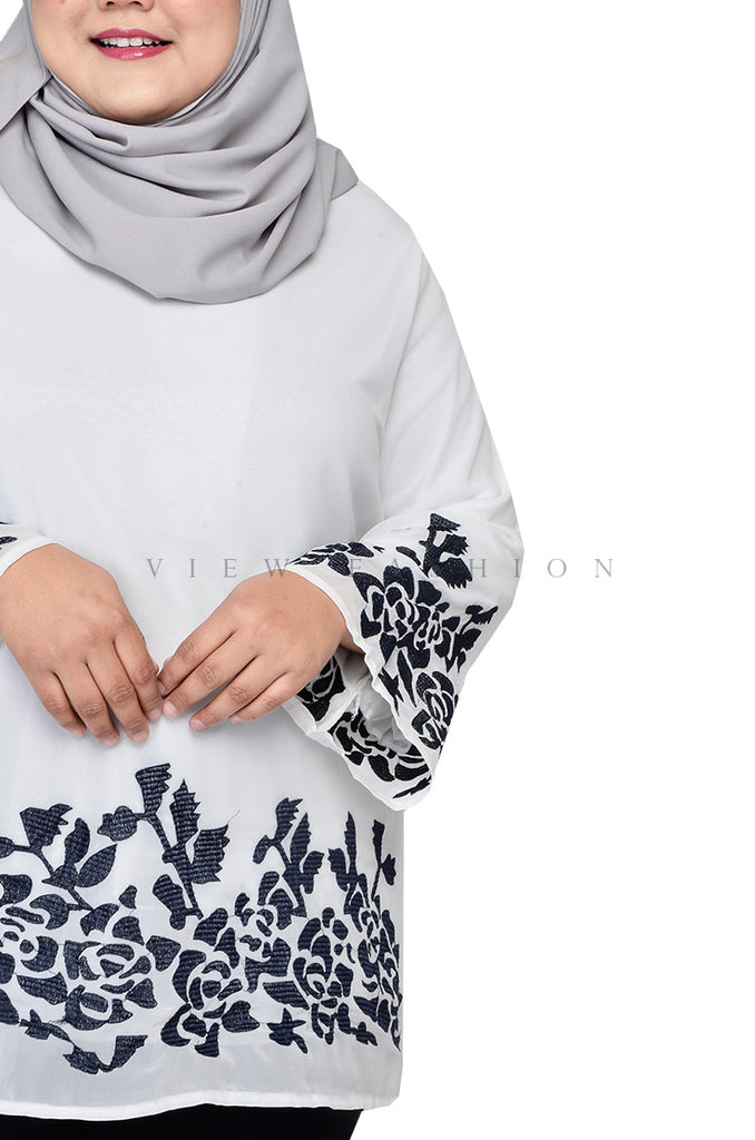 Blossom Embroidery Blouse