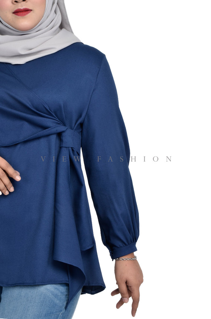 Basic Tie Detail Blouse