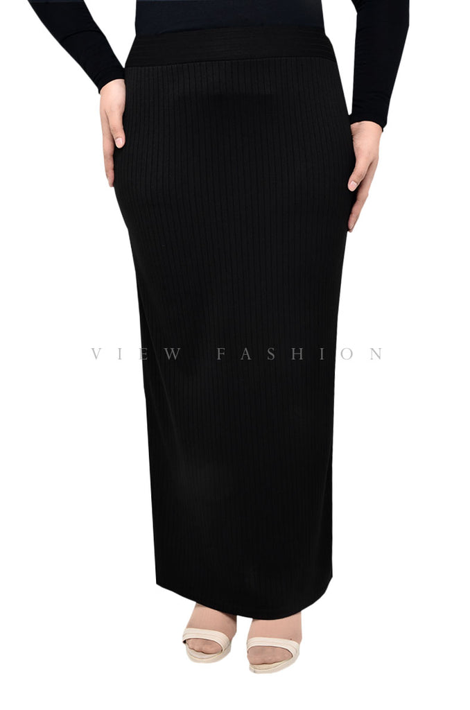 Elegant A-line Pleated Skirt