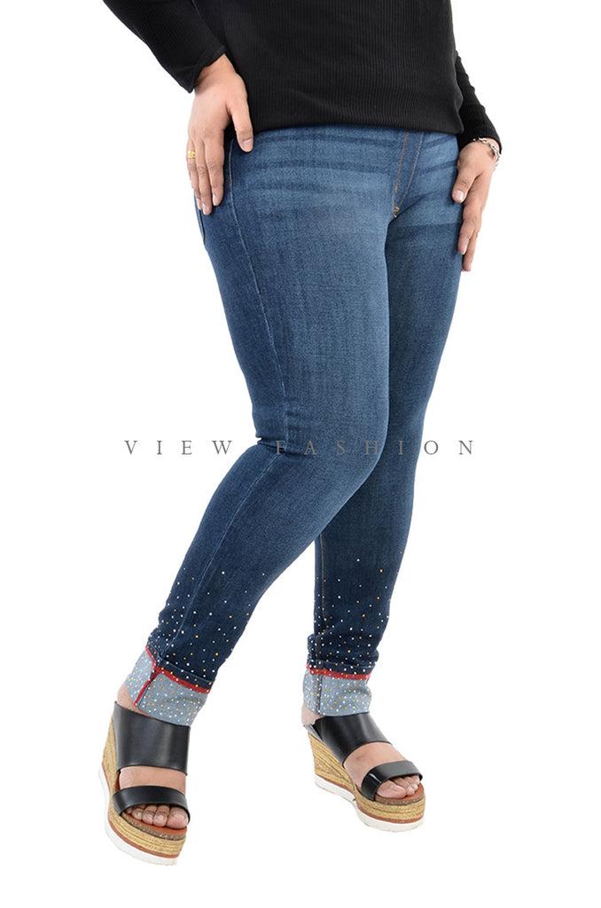 Diamond Skinny Jeans