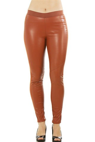 Ladies fashion stretch cotton blend leggings - FitBeautyTrends