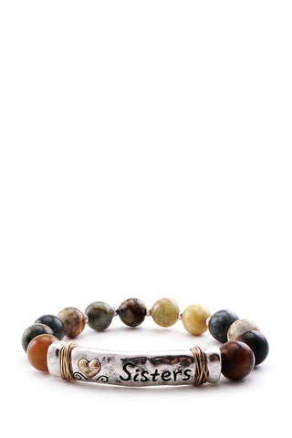 Sister beaded bracelet - FitBeautyTrends
