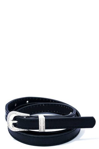 Chic Skinny Western Belt - FitBeautyTrends