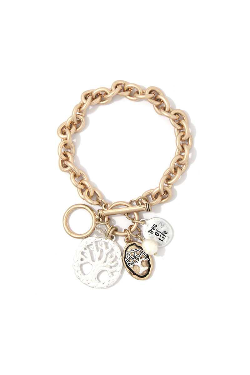 Tree Life Charm Bracelet - FitBeautyTrends