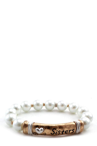 Sister Pearl Beaded Bracelet - FitBeautyTrends