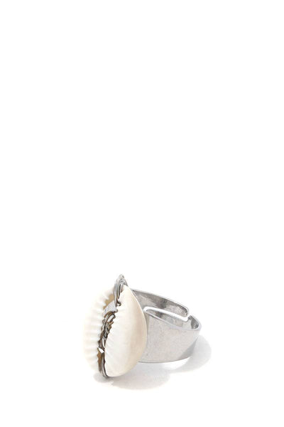 Cowrie Shell Ring - FitBeautyTrends