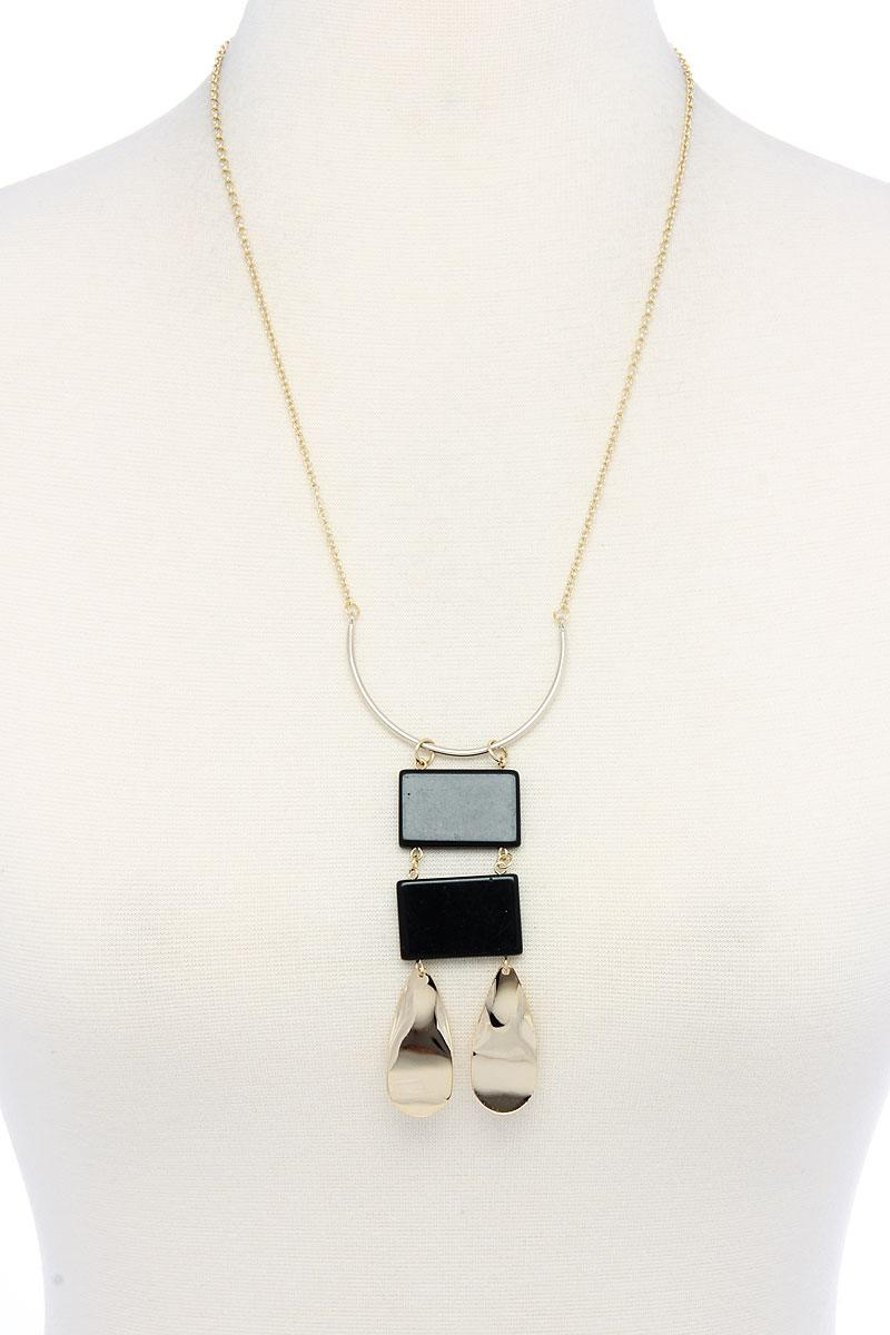 Modern Chic Pendant Necklace - FitBeautyTrends