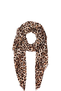 Hot Trendy Leopard Print Scarf - FitBeautyTrends
