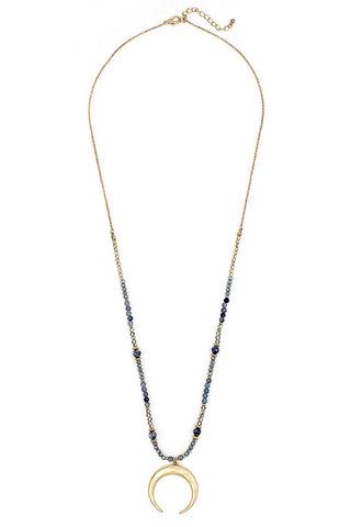 Stylish Fashion Beaded Pendant Necklace - FitBeautyTrends