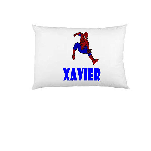 Spiderman pillow case, personalized pillow case, birthday gift, Children's Pillow Case, Kid's Bedroom, Toddler Room, Baby Room, boy's bedroom