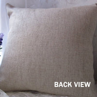 "LINKWELL 18""x18"" Shabby Chic Horse Burlap Pillow Cover Cushion Cover CC1456"