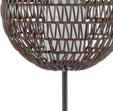 JONATHAN Y JYL6507A Outdoor Floor Lamp, Coffee/Black