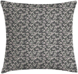 "Ambesonne Floral Throw Pillow Cushion Cover, Botanical Composition of Eucalyptus Flower Herbal Minimalistic Pattern, Decorative Square Accent Pillow Case, 24"" X 24"", Charcoal Grey Baby Pink"