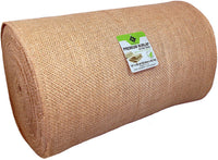 "14"" x 50yd NO-FRAY NO-Mess Burlap Table Runner Roll ~ 14"" Wide x 50 Yards Long Table Runner Fabric w/Finished Edges. Perfect for Weddings, Placemat, Crafts. Decorate Without The Mess!"