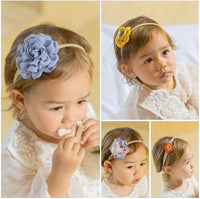 Baby Girls headbands with Hair Bows Flowers,Baby Hiar Accessories for Newborn Infant Toddler Gifts