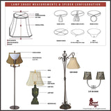 Royal Designs Shallow Drum Bell Billiotte Lamp Shade - Eggshell - 13 x 19 x 11.26