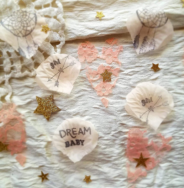 Boho Baby Shower, Dream Baby,Baby Girl Shower, Baby Dreamcatcher Baby Shower, Baby Shower Confetti, Baby Sprinkle