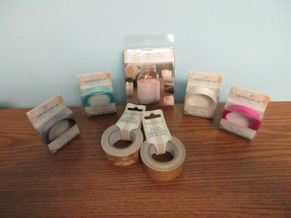 DAVID TUTERA RIBBON, DUCT TAPE AND MORE FOR WEDDINGS!