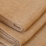 2m length Pure Jute Hessian Burlap Fabric Wedding Craft Upholstery DIY 1m wide