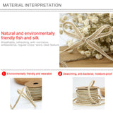 10M Hessian Jute Burlap Braided String Tape Ribbon Rope Rustic Wedding Craft