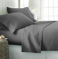 Egyptian cotton Extra Deep Pocket Bed Sheet Set [Flat + Fitted + Pillow Cases]