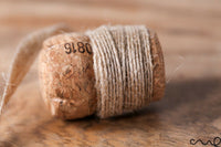 5/10M Striped Jute Ribbon 8mm Natural Hessian Burlap Ribbon Wedding Floristry