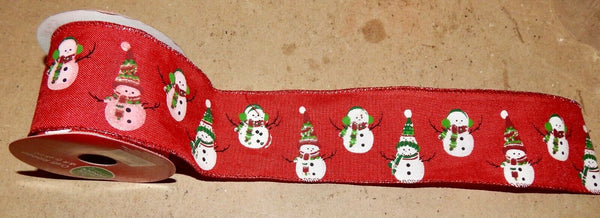 "Christmas Craft Ribbon 2 1/2"" x 18 ft You Choose The Type Winter Wonder 191B"