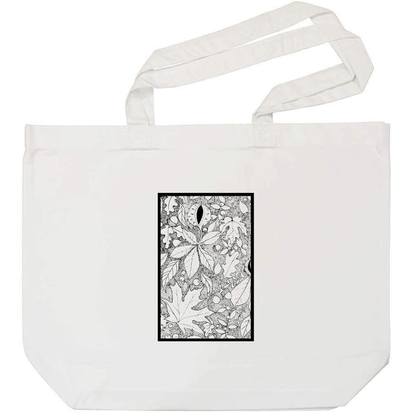 'Autumn Floor' Cotton Shopper Tote Bags (BG025211)
