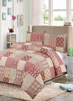 Duvet Quilt Cover with Pillow Cases Bedding Set Single Double King All Sizes